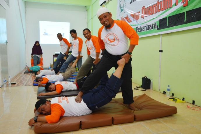 Pelatihan Quantum Pijat Thailand Level 2 Di Pekanbaru.